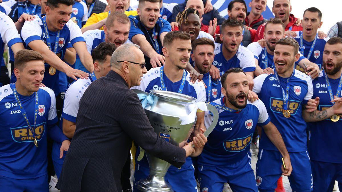 Prishtina kurorëzohet me titullin e kampionit