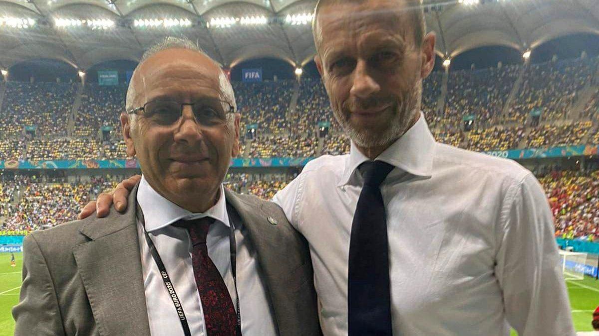 Presidenti Ademi takohet me presidentin e UEFA-s, Çeferin