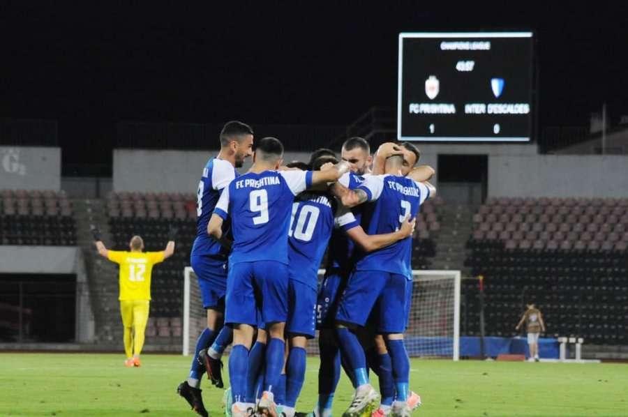 Prishtina e kalon me sukses rrethin parakualifikues të Championsit