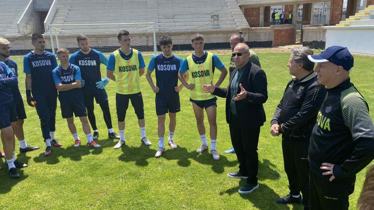 Krerët e FFK-së vizituan Kombëtaren U21