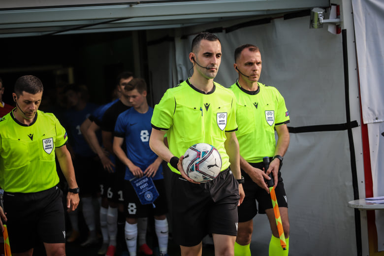 Genc Nuza me asistentë delegohet në ndeshjen e Ligës së Kampionëve