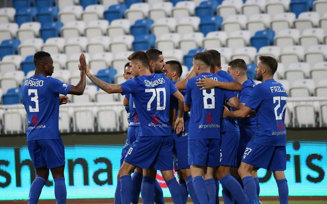 Drita shënoi fitore në ndeshjen e parë kundër Deçiqit