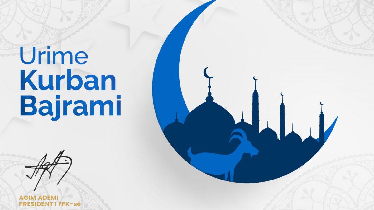 Mesazh-urimi i presidentit Ademi për Kurban Bajramin