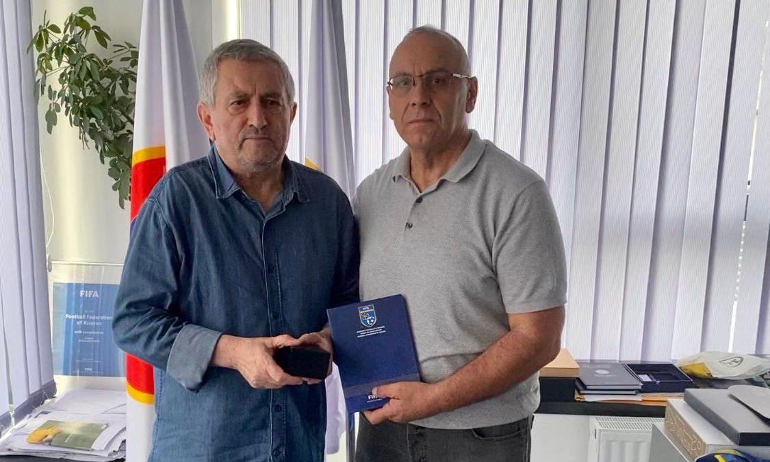 Presidenti Ademi takoi ish-nënkryetarin e kryesisë së parë të FFK-së