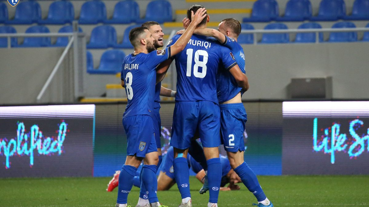 Kosova realizon fitoren historike në kualifikimet e Botërorit, e mposht Gjeorgjinë