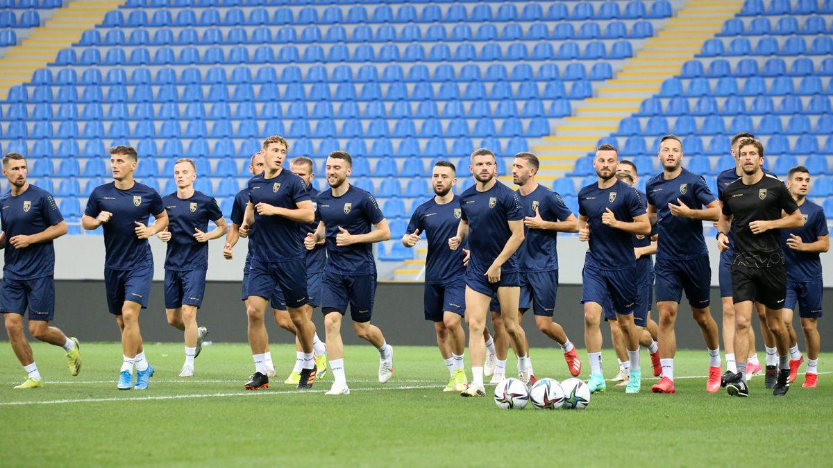 """Dardanët e kryejnë stërvitjen në """"Batumi Arena"""", Challandes e Rashani optimistë"""