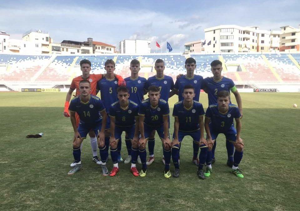 Kosova U17 barazoi në miqësoren e dytë me Shqipërinë