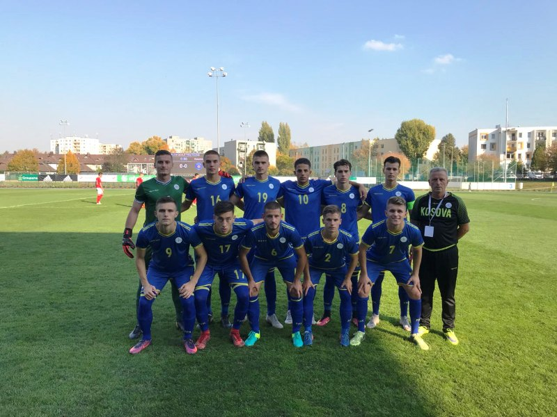 Kombëtarja U-19  në ndeshjen e parë luajti baras kundër Austrisë