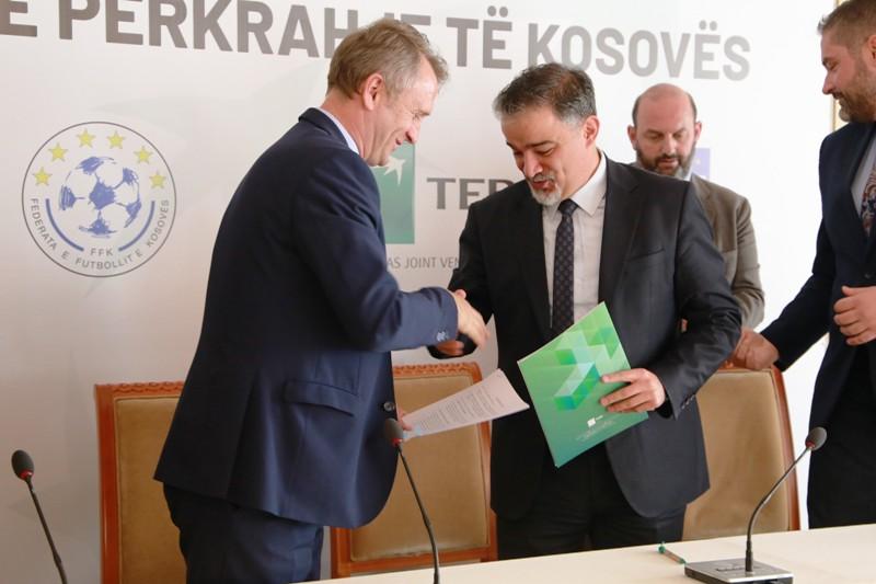 FFK-ja  dhe TEB banka nënshkruan marrëveshje për sponsorizim