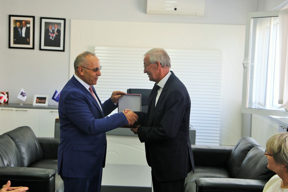Rainer Milkoreit i shkruan presidentit Agim Ademi