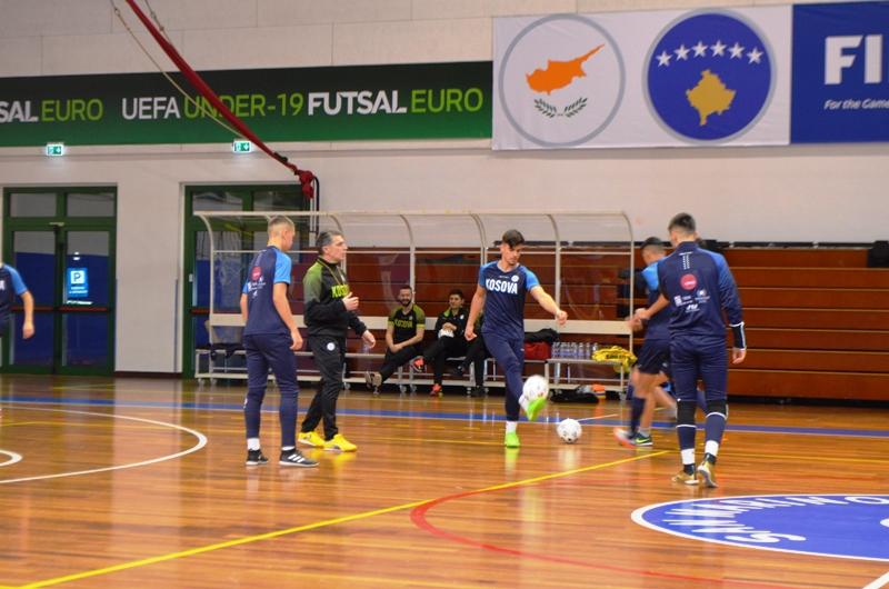 Djemtë e Kombëtares U-19 në futsall të gatshëm për San Marinon