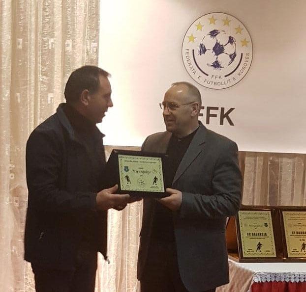 LRFGJ nderoi presidentin Ademi me mirënjohje