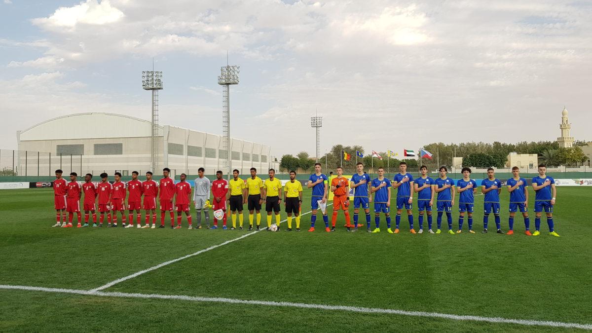 Kosova U16 barazoi në ndeshjen e parë në Dubai
