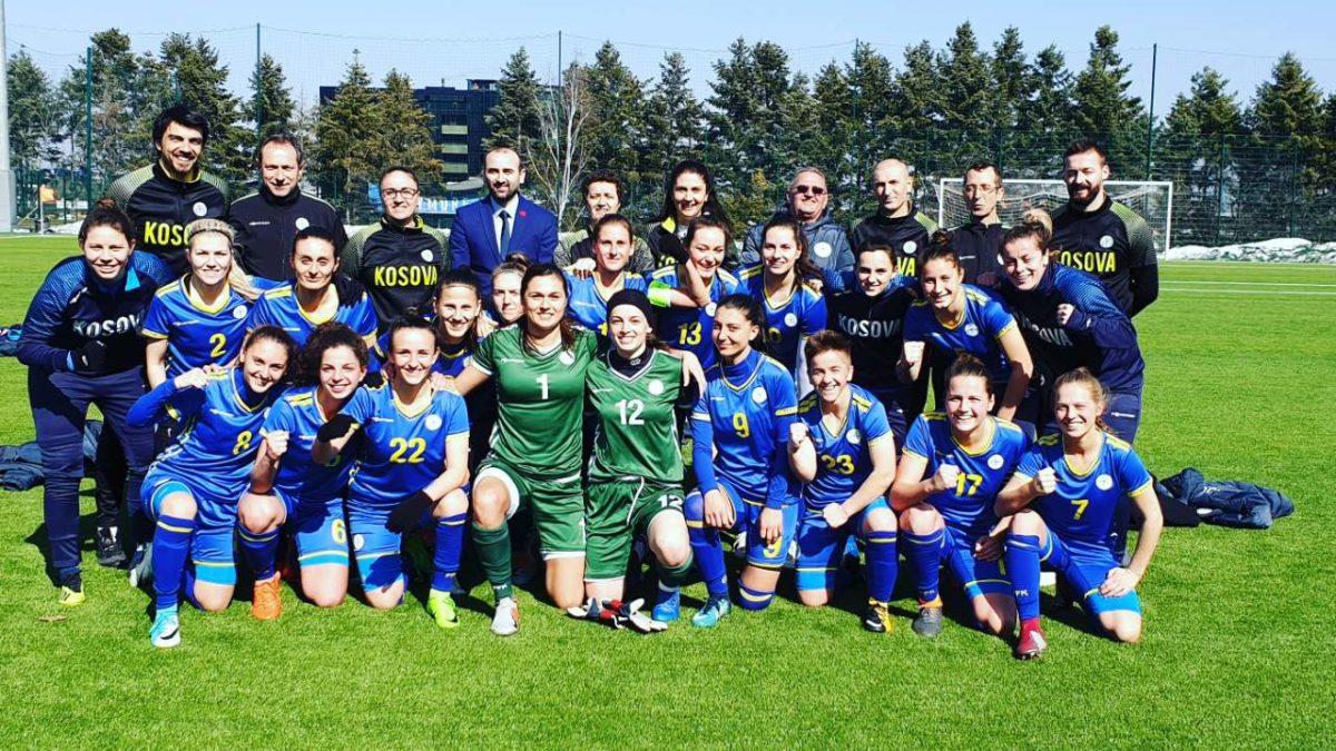 Femrat/Kombëtarja e Kosovës sërish e mposhti Bullgarinë