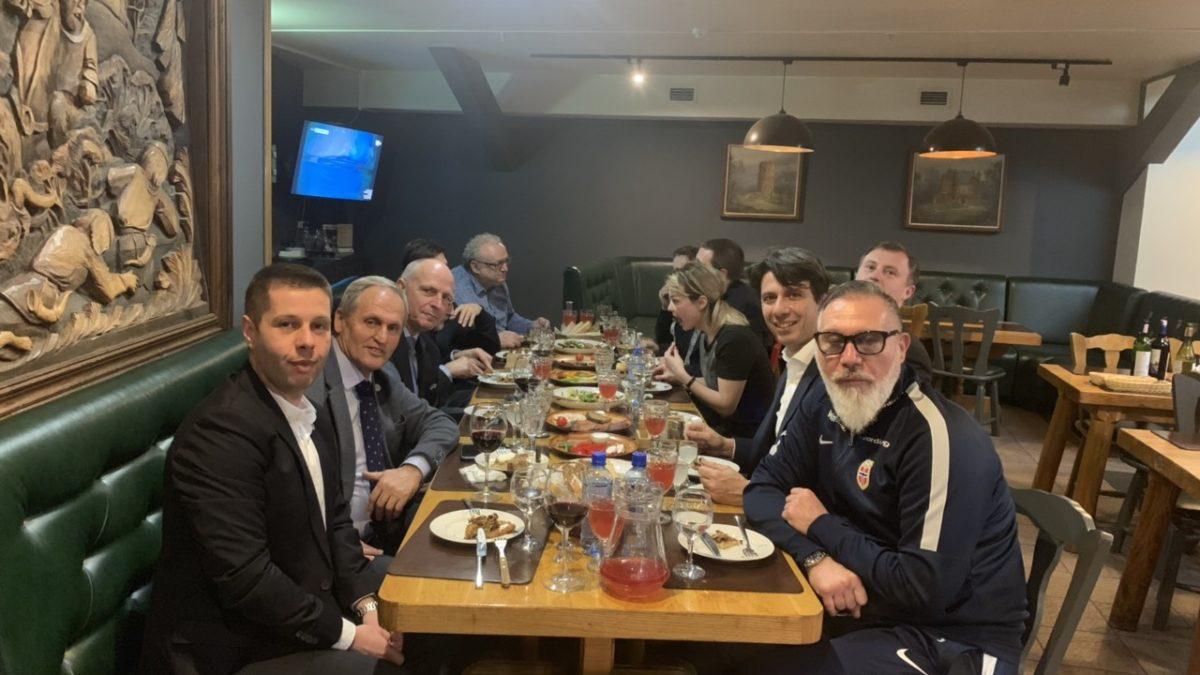 FF e Bjellorusisë shtroi darkë për delegacionet