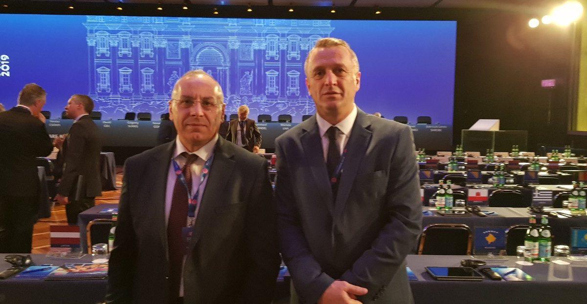 Ka filluar Kongresi i UEFA-s, presidenti Ademi takoi Infantinon dhe shumë homologë