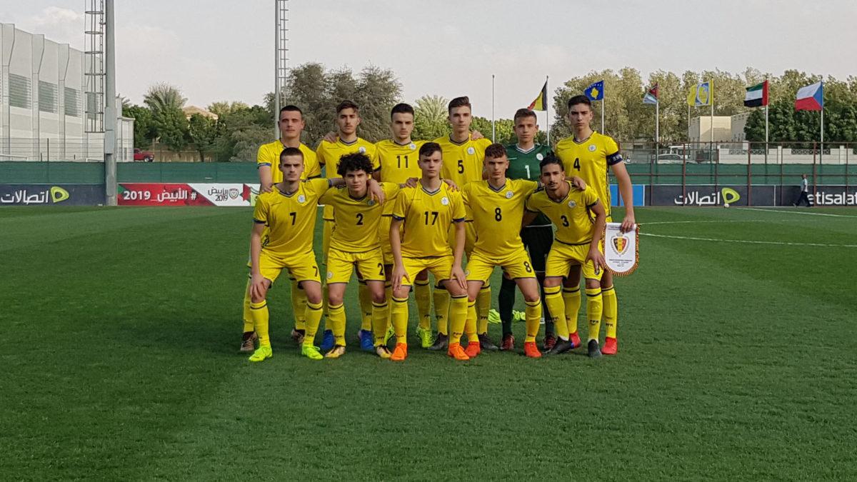 Kombëtarja U16 pësoi humbje nga Belgjika