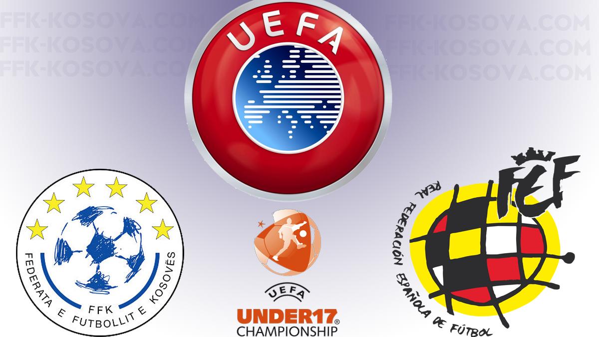 UEFA ia merr organizimin Spanjës për shkak të Kosovës
