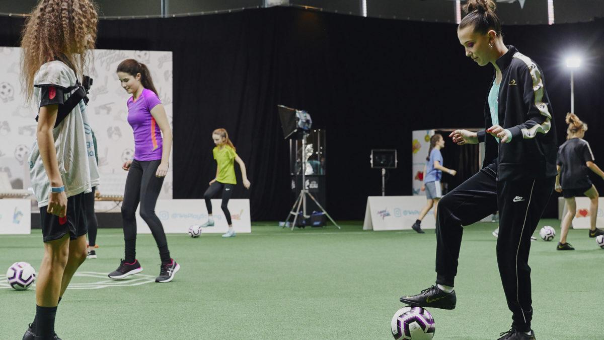 UEFA nis fushatën për sensibilizimin e vajzave për futboll