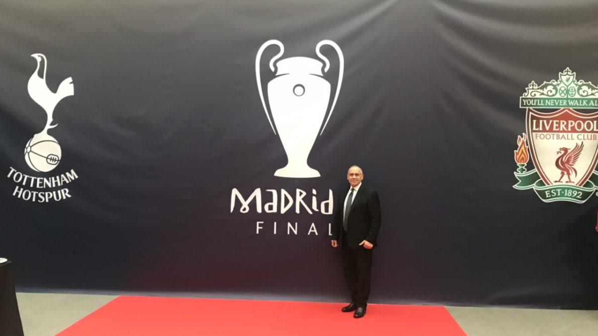 Presidenti Ademi në Madrid për finalen e Ligës së Kampionëve