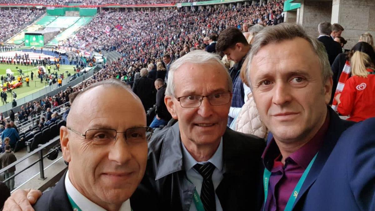 Krerët e FFK-së ishin mysafirë nderi në finalen e Kupës së Gjermanisë