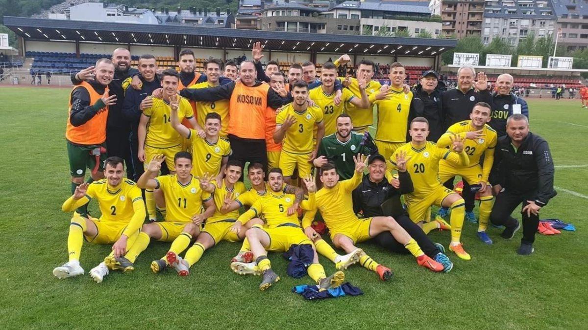 Kosovo U21 shines against Andorra, wins 4: 0