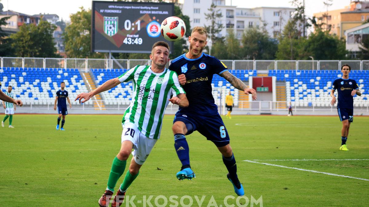 Feronikeli eliminohet nga Europa League, humb sërish nga Slovani