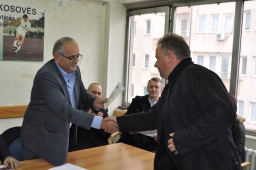 Edhe LRF e Prishtinës në mbështetje të presidentit Agim Ademi