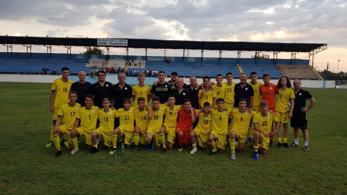 Kosova U15 shënoi fitore në duel me Shqipërinë U15