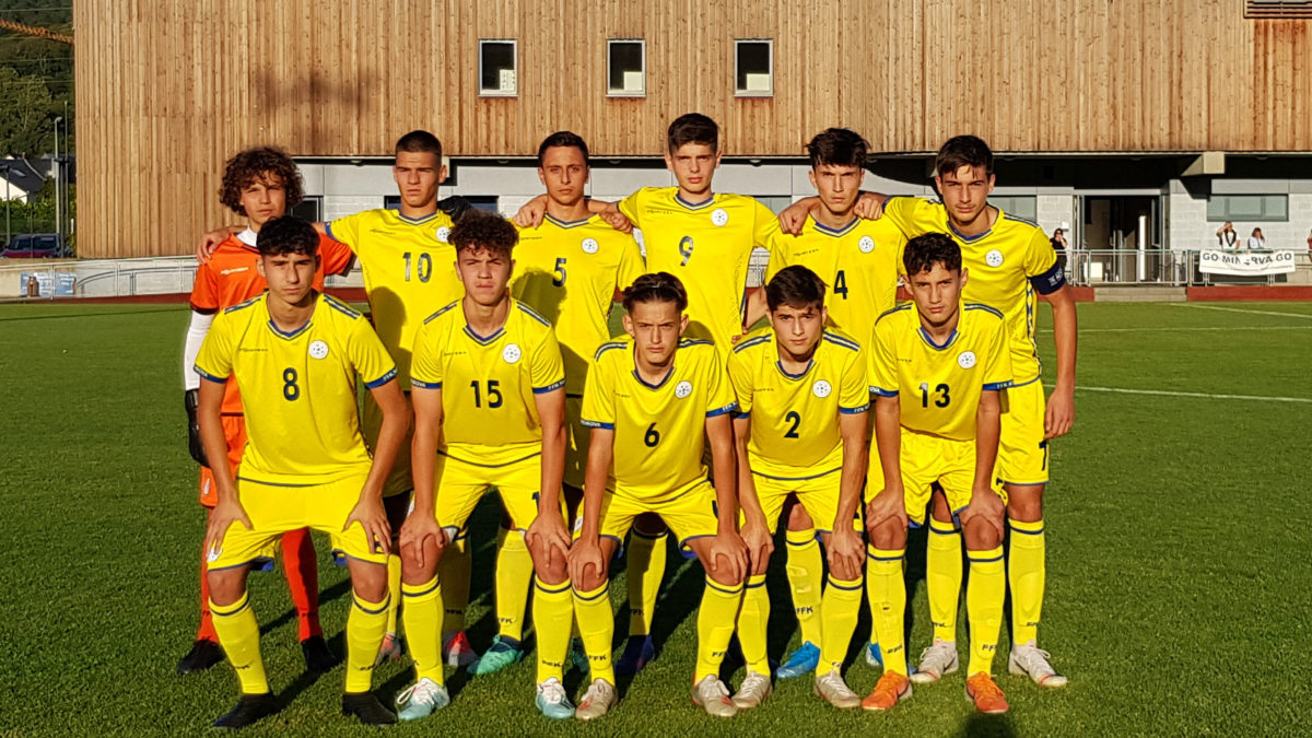 Kosovo U17 first in the tournament held in Latvia