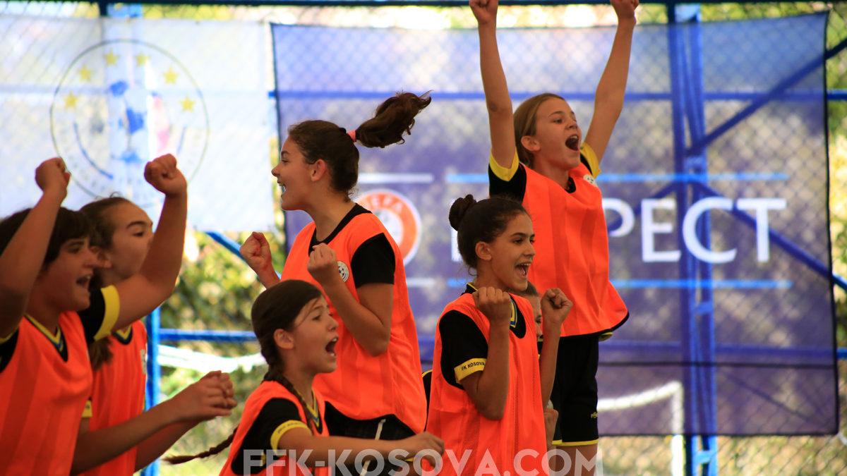 Rekrutimi i vajzave në futboll/ Argëtim dhe shfaqje e talenteve për të dytin vit në Prizren
