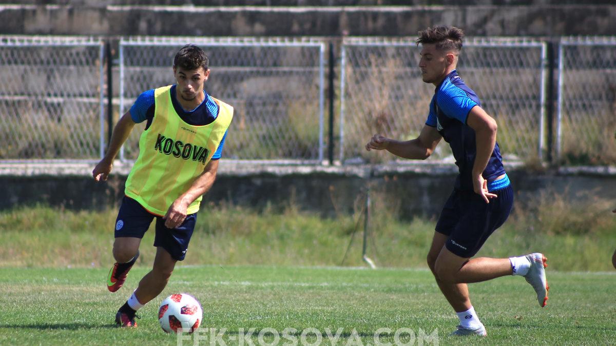 Kombëtarja U21 po përgatitet me entuziazëm për ndeshjen me Anglinë