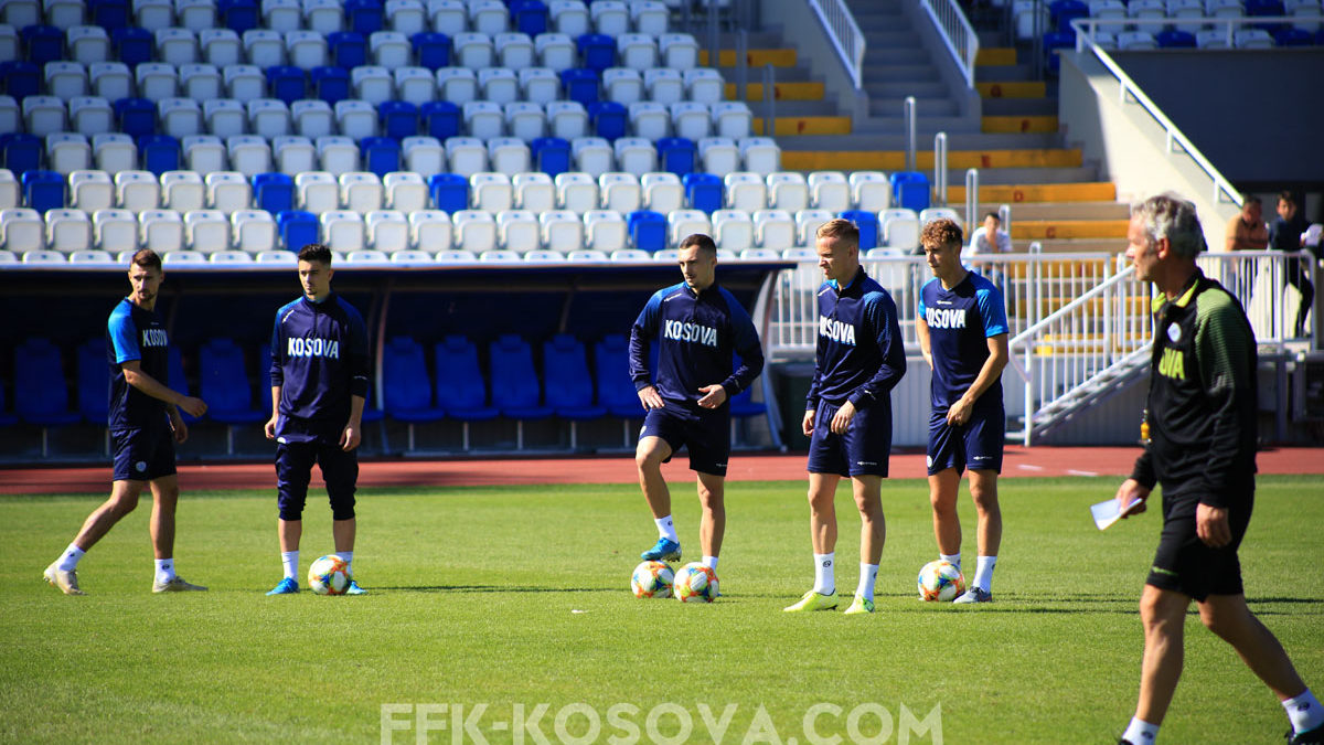 Dardans exercise with dedication, Valon Berisha and Florent Hasani hope for a win against Montenegro
