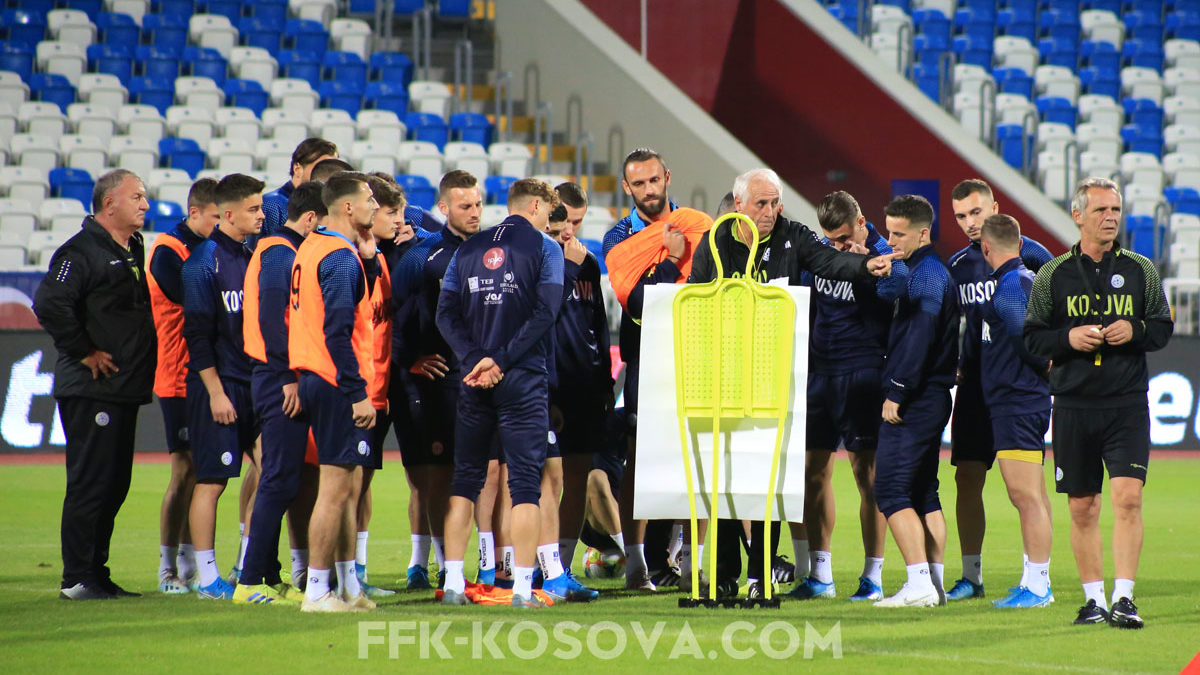 Dardans ready to match Montenegro, Challandes and Rashica believe in victory
