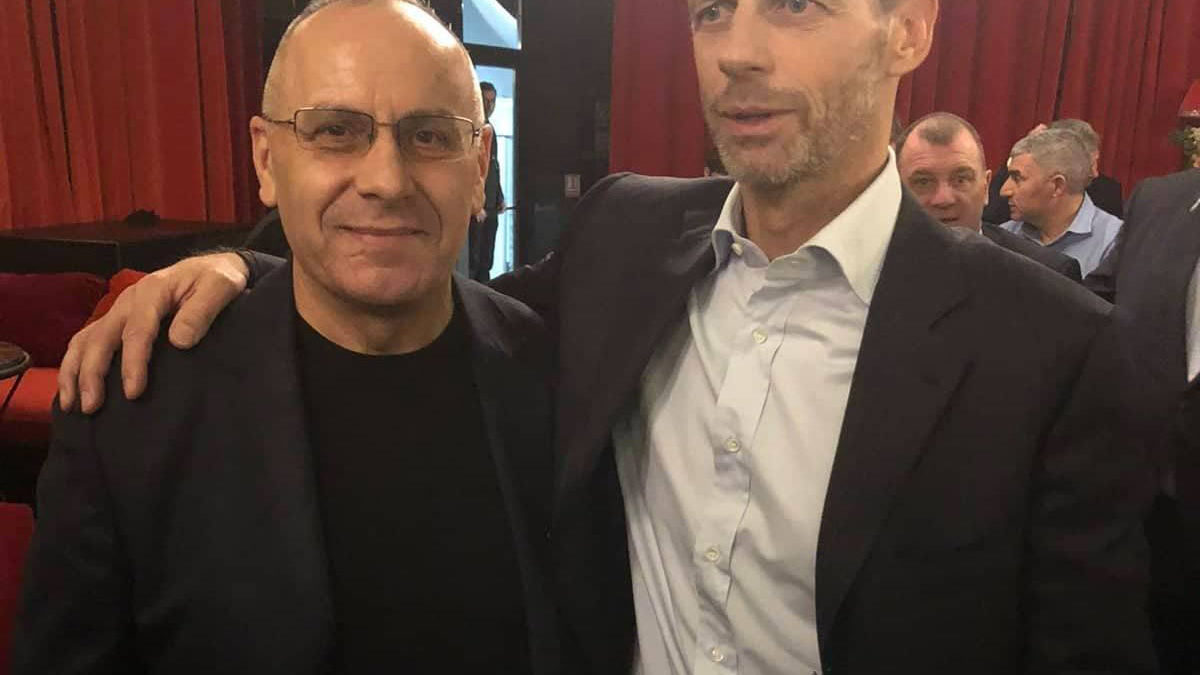 Presidenti Ademi takoi presidentin Çeferin