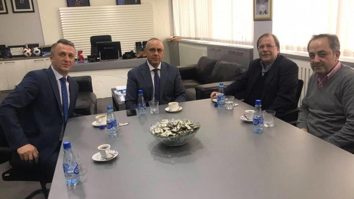 Presidenti Ademi priti zëvendëspresidentin e DFB-së