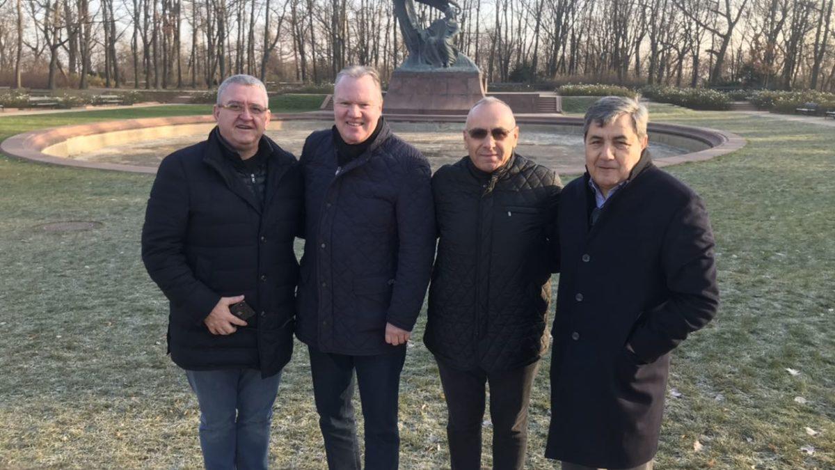 Presidenti Ademi dhe nënkryetari Burri po marrin pjesë në manifestimin e 100 vjetorit të Federatës polake
