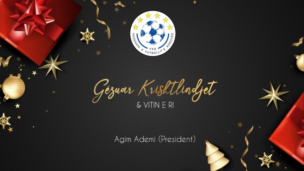 Urimi i presidentit Ademi për festën e Krishtlindjes