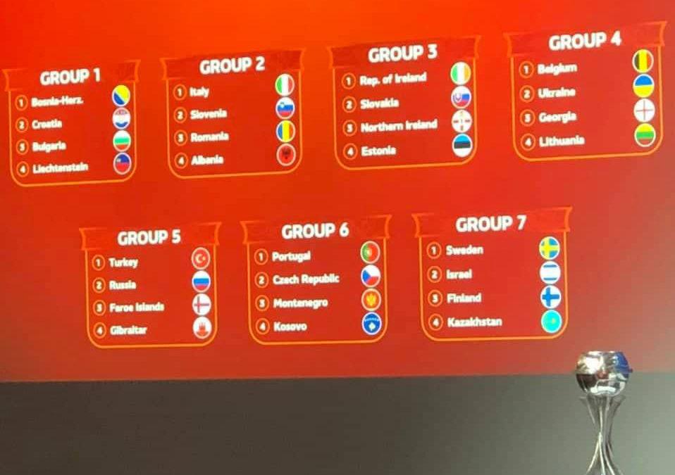 Kombëtarja U17 në grup me Portugalinë për Euro 2021