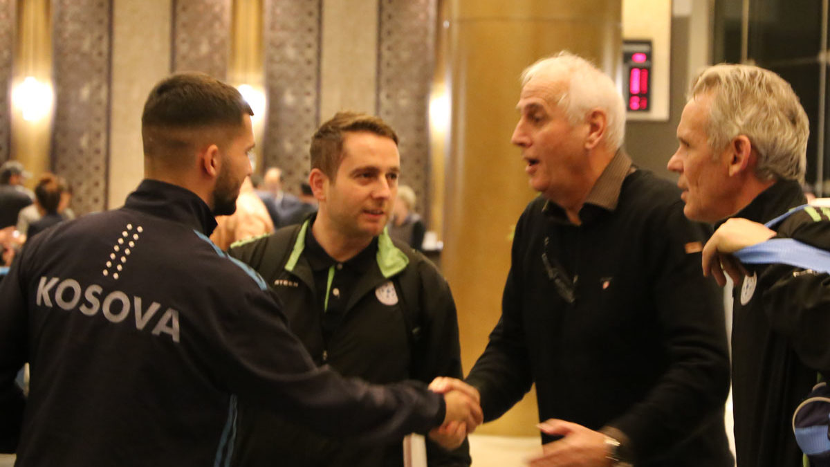 Kombëtarja arrin në Doha