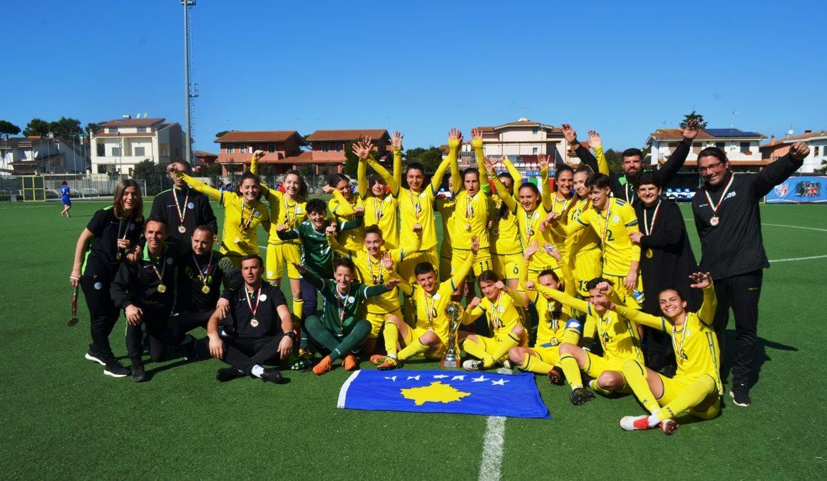 Dardanet fitojnë turneun në Itali pa asnjë humbje