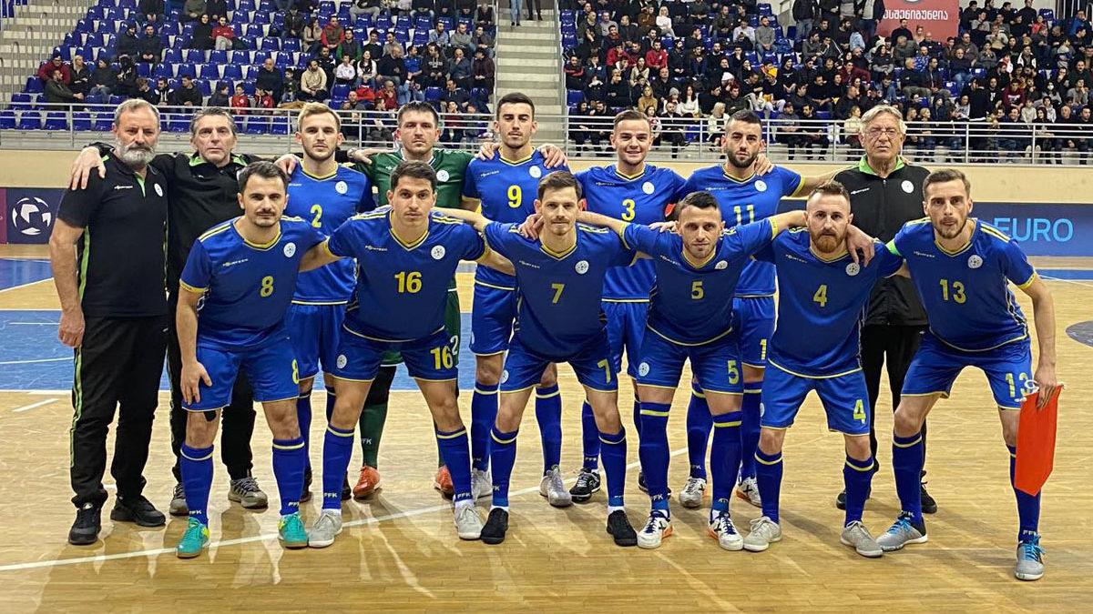 Gjeorgjia shumë e fortë për Kosovën në futsall