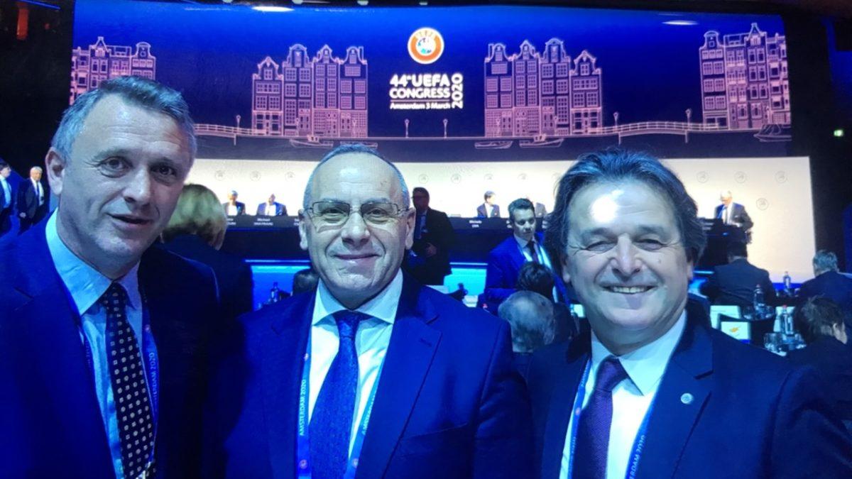 Krerët e FFK-së po marrin pjesë në Kongresin e UEFA-s