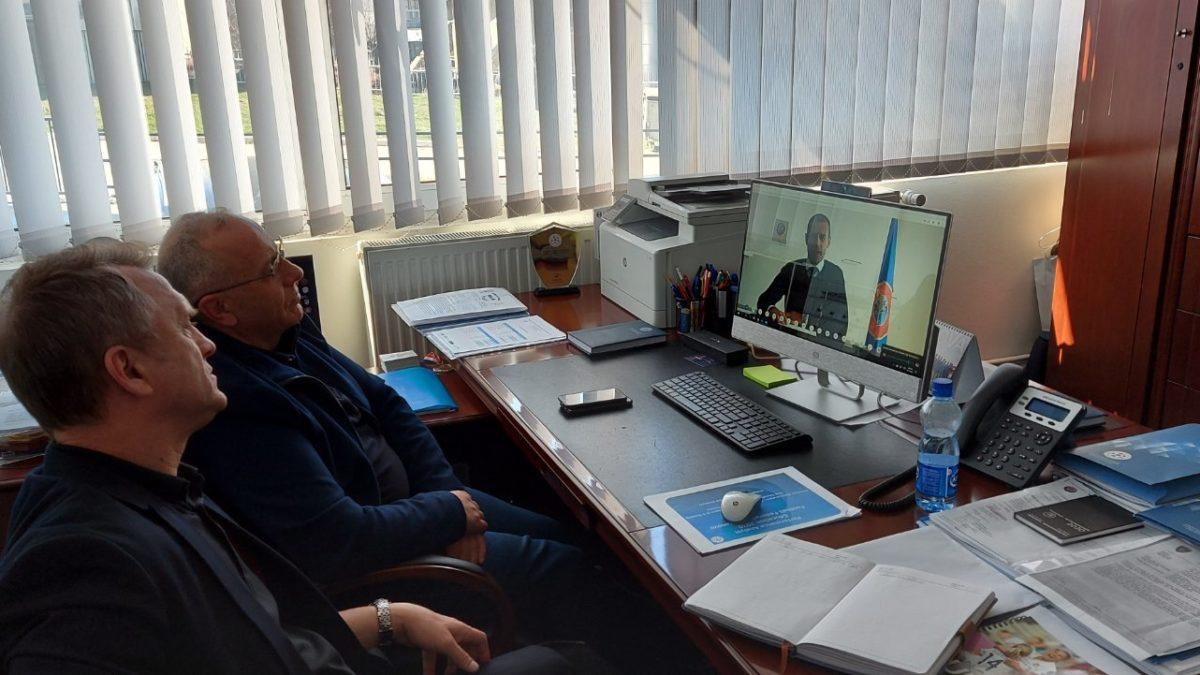 U mbajt video-konferenca e dytë e UEFA-s me 55 anëtaret e saj