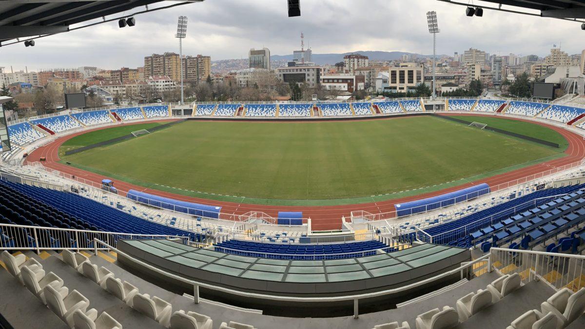 "Presidenti Ademi vizitoi stadiumin ""Fadil Vokrri"""