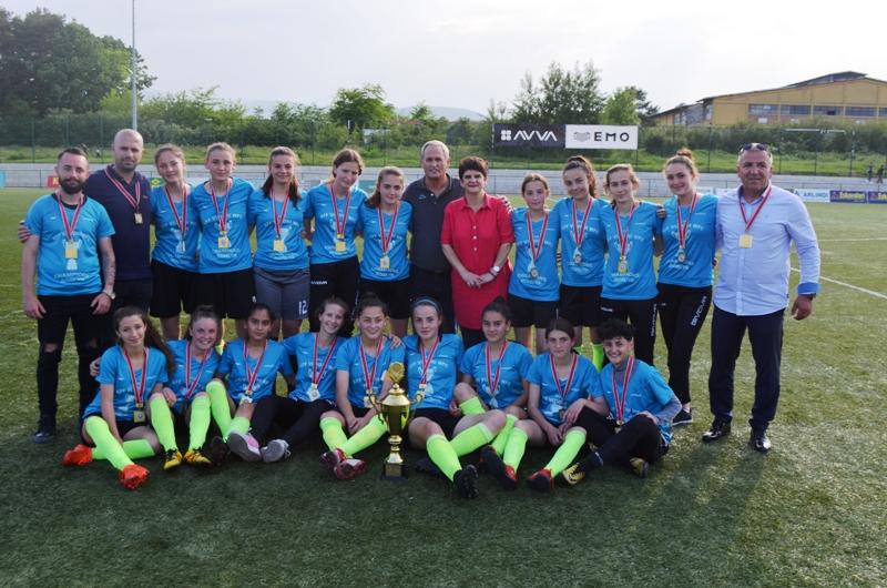 Vizioni kampion në Ligën U16 të vajzave