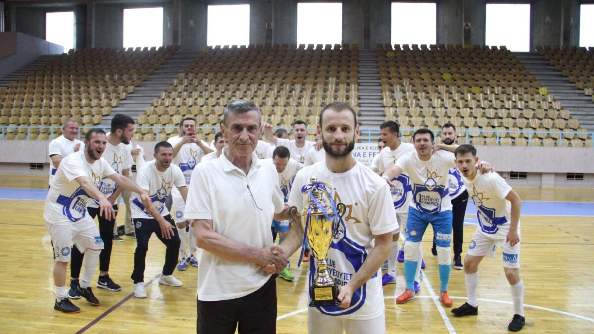 Mabetex Prishtina champion in futsal