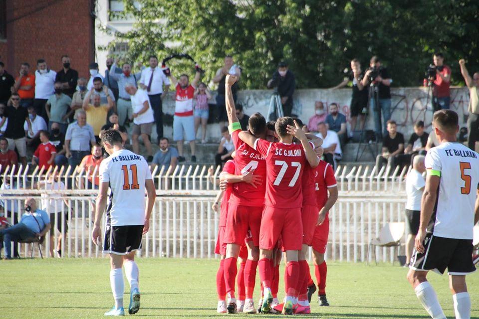 Gjilani-Ballkani mbyllet baras, Drita e siguron titullin e kampionit