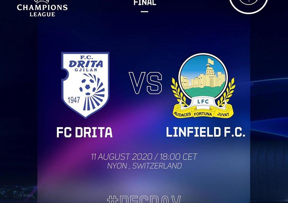 UEFA pezullon ndeshjen Drita – Linfield