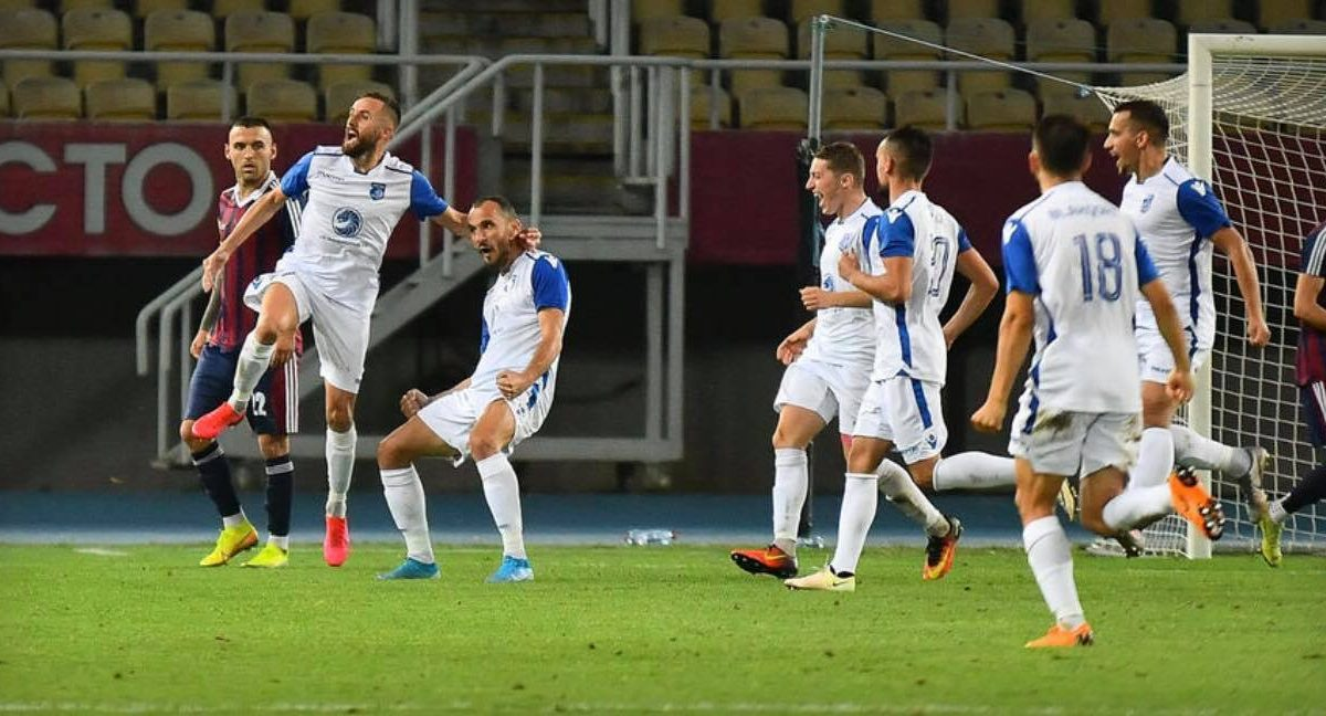 Drita shines in Skopje, qualifies for the third round of the Europa League